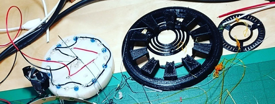 arc reactor static leds