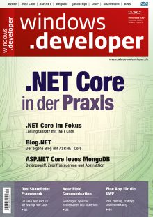 windows.developer issue on .NET Core