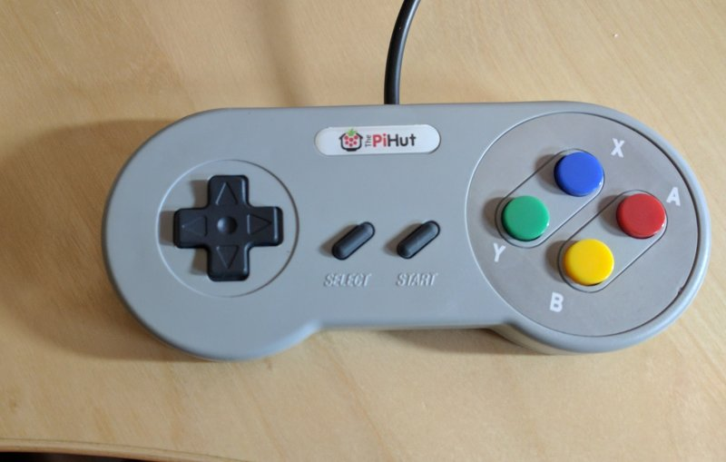 The game pad - before