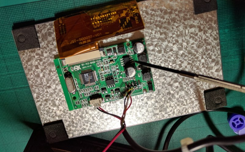 Finding the monitor's voltage regulator