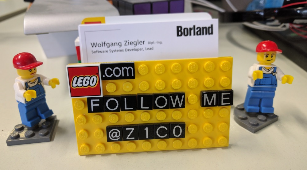 Wolfgang ziegler legos and leds my lego business card holder reheart Gallery