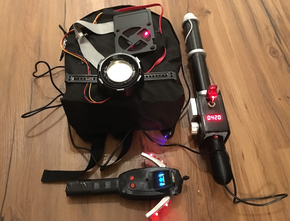 Ghostbusters Proton Pack and PKE Meter